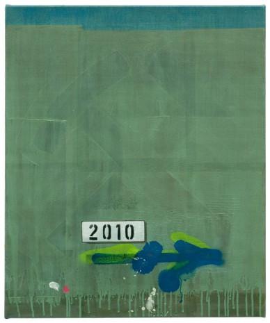 Jahrestafel · 60 x 50 cm · 2010