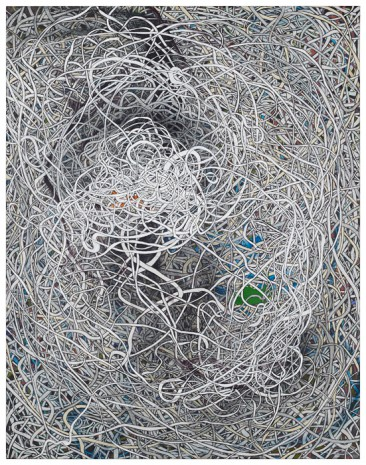 Knoten · 115 x 90 cm · 2014