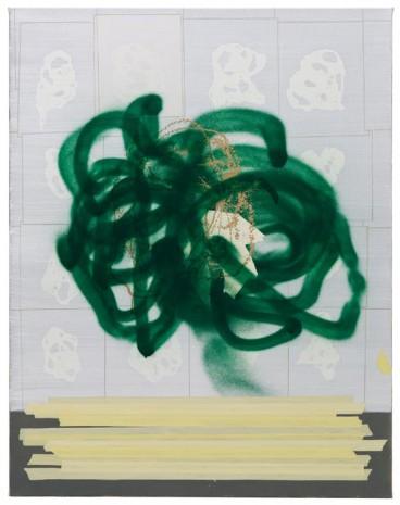 Kopf · 115 x 90 cm · 2009