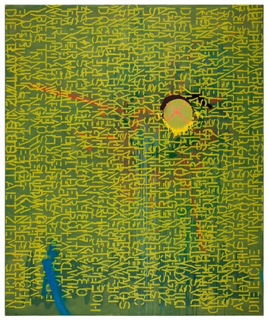 Ludwig Hohl · 240 x 200 cm · 2013