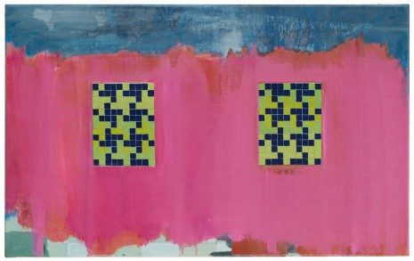 Testfeld · 40 x 65 cm · 2008