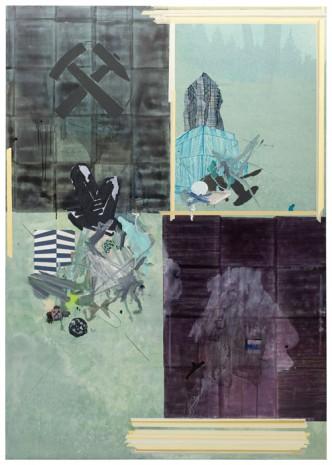 VORSTOSS · 240 x 170 cm · 2010