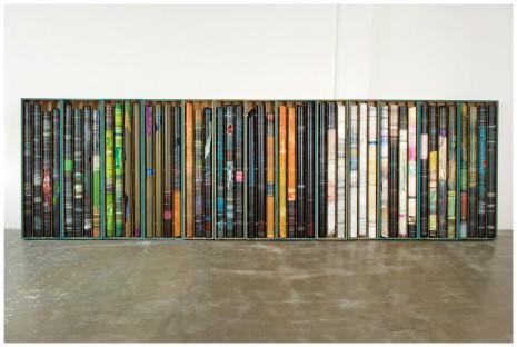 Bergschnitt · mixed media · 205 x 720 x 20 cm · 2010