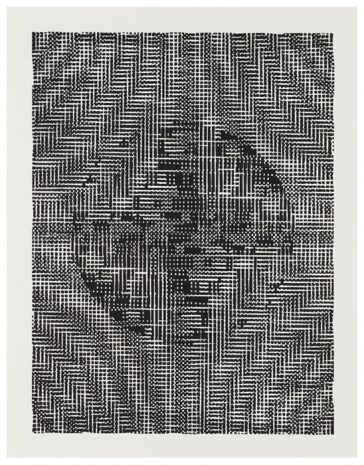 Algorithmen-II · 40 x 30 cm · 2017