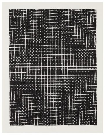 Algorithmen-III · 40 x 30 cm · 2017