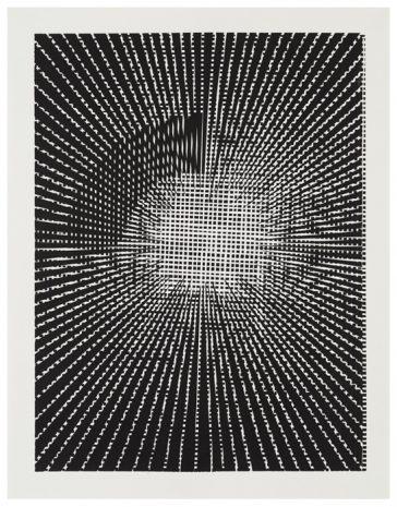 Algorithmen-V · 40 x 30 cm · 2017