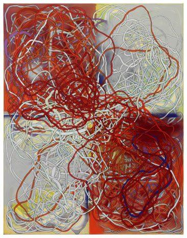 Blatt · 115 x 90 cm · 2017