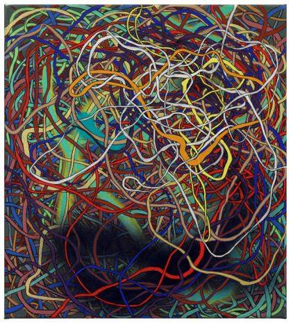 Virus · 50 x 45 cm · 2016